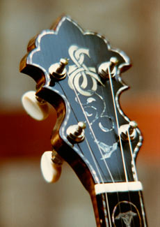 One of Larry Sifel's banjos