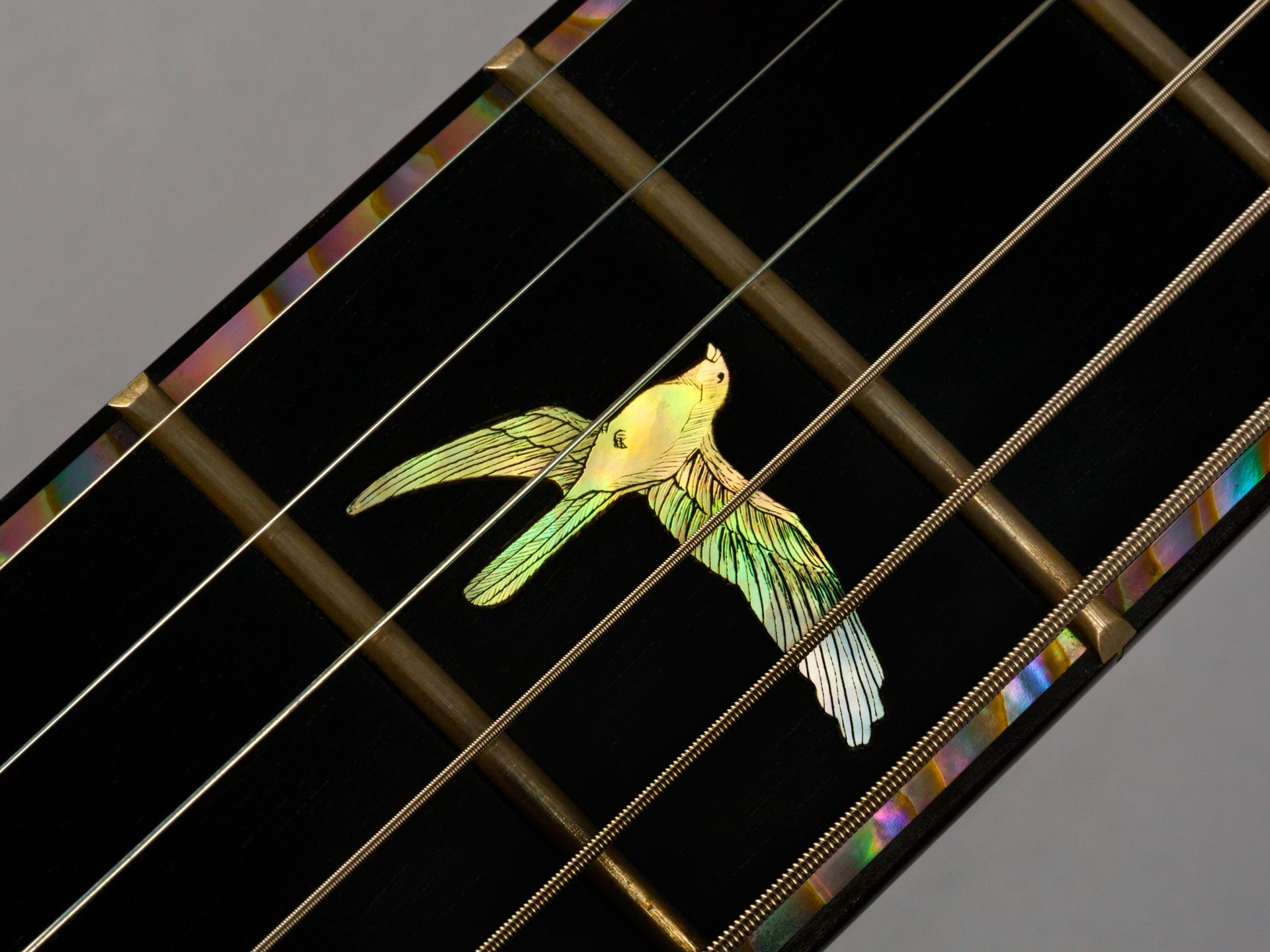 Prs Private Artist 2 Prototype Pearl Works Inlay